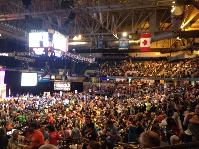 Democratic State Convention 2014. Wellesley Democratic Committee photo
