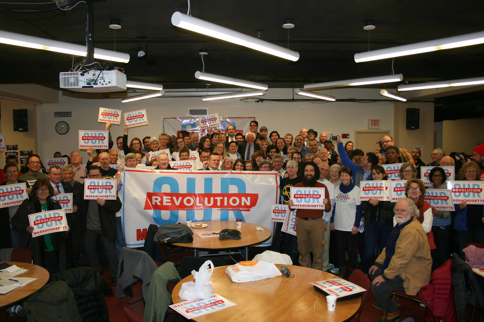 Our Revolution launch on March 31st, 2017 launch in Boston