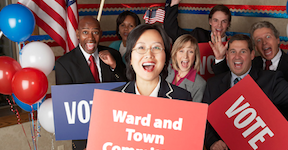Photo of Ward and Town Committee Workers
