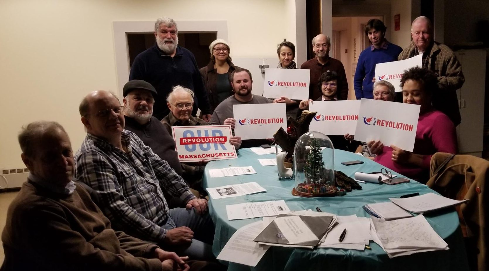Photo of Our Revolution Greater Fall River, Dec. 12.