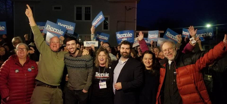 Image: Kickoff of Holyoke's new Bernie office